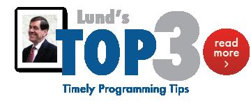 Lund's Top 3